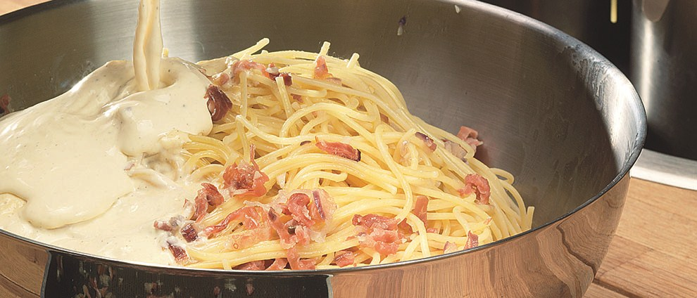 Пошагово спагетти карбонара рецепт с фото