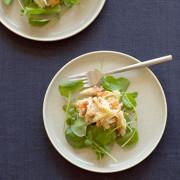 Салат с крабами по-японски