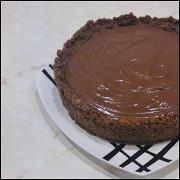 Шоколадный пай с шоколадным кремом