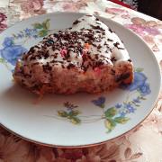 Полезный морковный пирог с бананами и специями