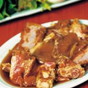 Соус барбекю с соусом ранч и медом для свинины на гриле