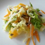 Вегетарианский салат с фенхелем