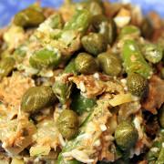 Салат из тунца и стручковой фасоли