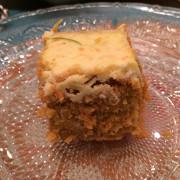 Морковный пирог с сырно-цитрусовым кремом