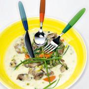 Телятина с йогуртом и овощами
