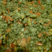 Суп из чечевицы и болгарского перца