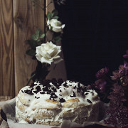 Торт «Поленница» со сметанным кремом