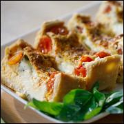 Итальянский пирог с моцареллой и томатами от Александра Селезнева