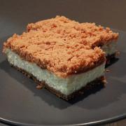 Творожный пирог из крошек