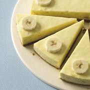 Яблочно-банановый чизкейк без запекания