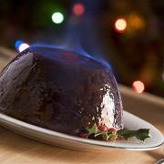 Рождественский сливовый пудинг