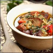 Рис с мясом в горшочке по-перуански