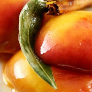 Медовые персики по-китайски
