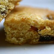 Пирог с инжиром, виски и орехами