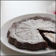 Быстрый шоколадный пирог с яблочным уксусом