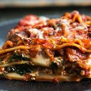 Вегетарианская лазанья с баклажанами