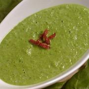 Венгерский суп из шпината