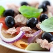 Салат из тунца с мятой по-сицилийски