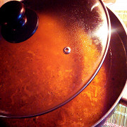 Гречневый суп с фасолью