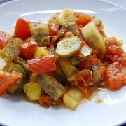 Печеные овощи по-простому