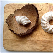 Диетический кокосовый пудинг-минутка на агар-агаре