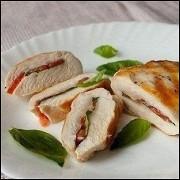 Куриное филе с томатами и базиликом