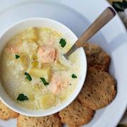 Финский сливочный суп с лососем (Лохикейтто)