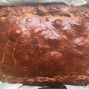 Йоркширский пирог с курятиной