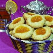 Печенье к чаю с абрикосовым джемом