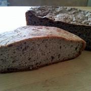 Хлеб ржаной на натуральной ржаной закваске