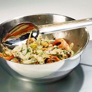 Салат из фенхеля и морских гадов