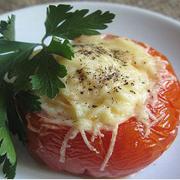 Яичница в томате