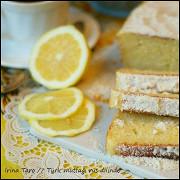 Лимонный торт с кокосом (Limonlu Hindistan Cevizli Kek)