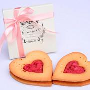 Печенье имбирное с клюквой и розовым перцем