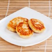 Сырники с кокосом, запеченные в духовке (не сладкие)