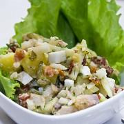 Салат из сельди по-немецки