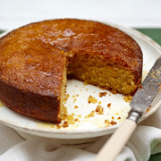 Апельсиновый пирог с имбирной пропиткой