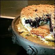 Черничный пирог-штрейзель