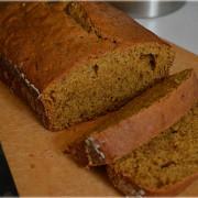 Безглютеновый тыквенный хлеб