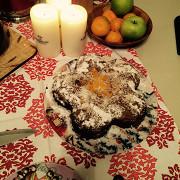 Морковный торт с цедрой