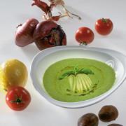 Суп из щавеля и авокадо