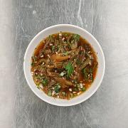 Китайский холодный суп из баклажанов