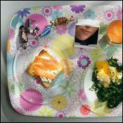 Тосты с лососем и лимонным творогом