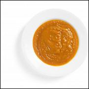 Тыквенный суп с кокосовым маслом