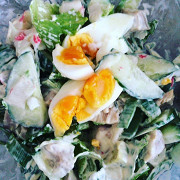 Салат с кальмарами HappyOldYear