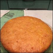 Нежный морковный пирог