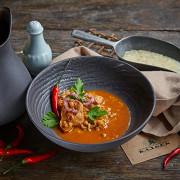Суп харчо с аджикой