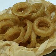 Луковые кольца в пивном кляре