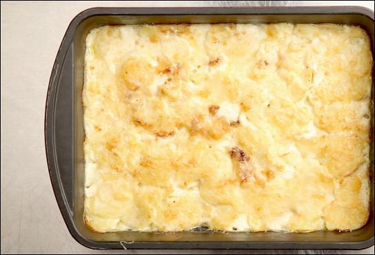 Фото приготовления рецепта: Гратен дофинуа - шаг 5