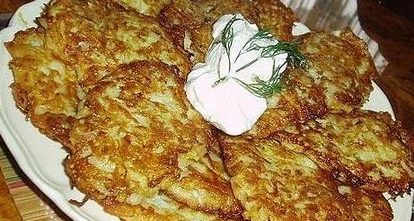 Оладьи из кабачков с зеленью рецепт – турецкая кухня ...